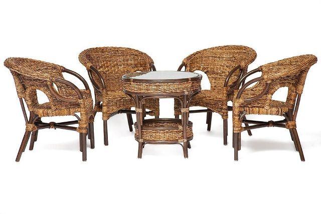 кофейный комплект 210000 диван 2 кресла стол